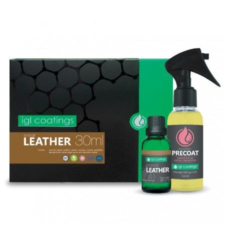 IGL Ecocoat leather 30 ml kit